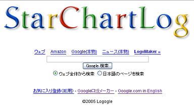 StarChartLog-logogle